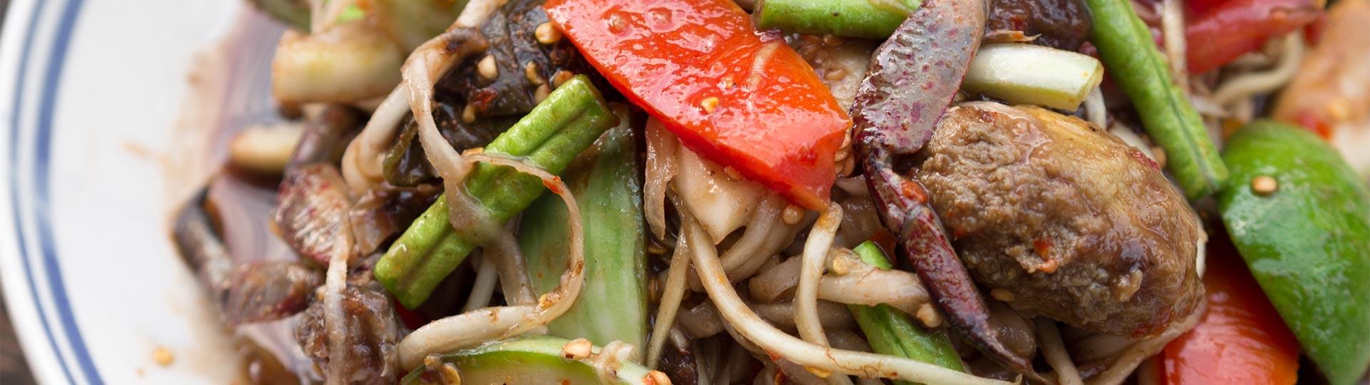Asiatische und Schweizerische Küche