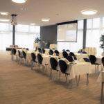 Der grosszügige Saal mit Platz für bis zu 300 Personen